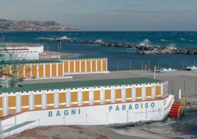 Swimming Huts - San Remo