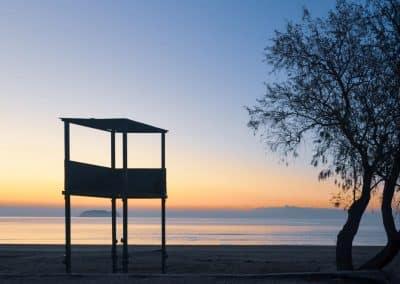 Sunset Kalamaki Beach