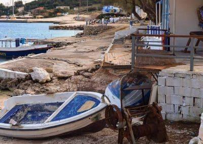 Winter Boats Agios Nikolaos_