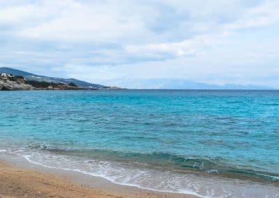 Zakynthos Beach looking to Kefalonia