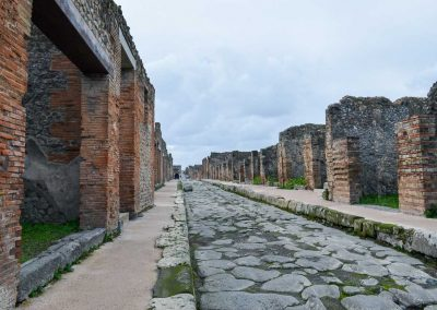 Ancient Streets of Pompeii