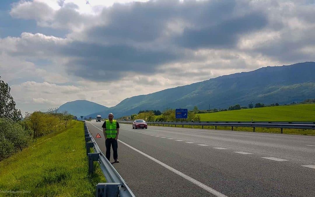 Breakdown in Basque Country