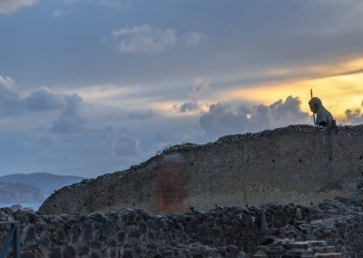 Broken Statue Pompeii