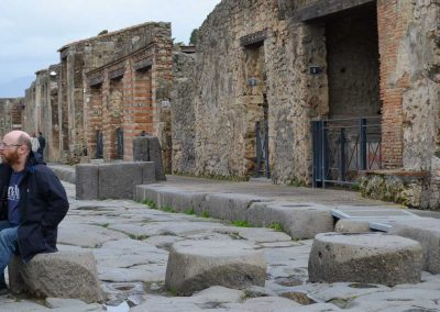 Jay in Pompeiii