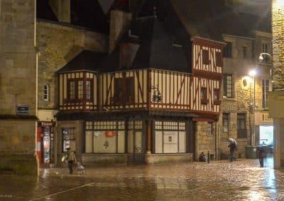 Rain on cobbles Alencon