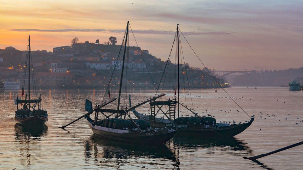 The Douro at Sunset Porto
