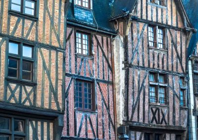 Timbered Houses in Tours