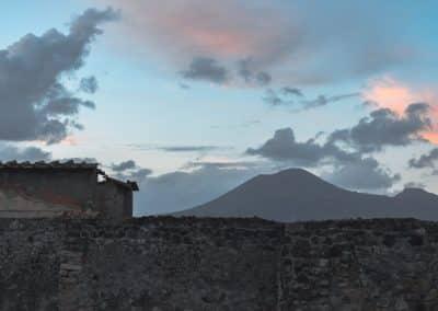Vesuvius from the ruins of Pompeii