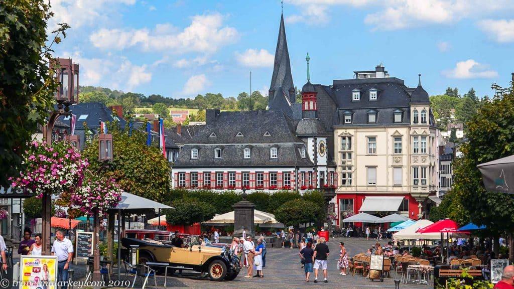 Mayen town centre