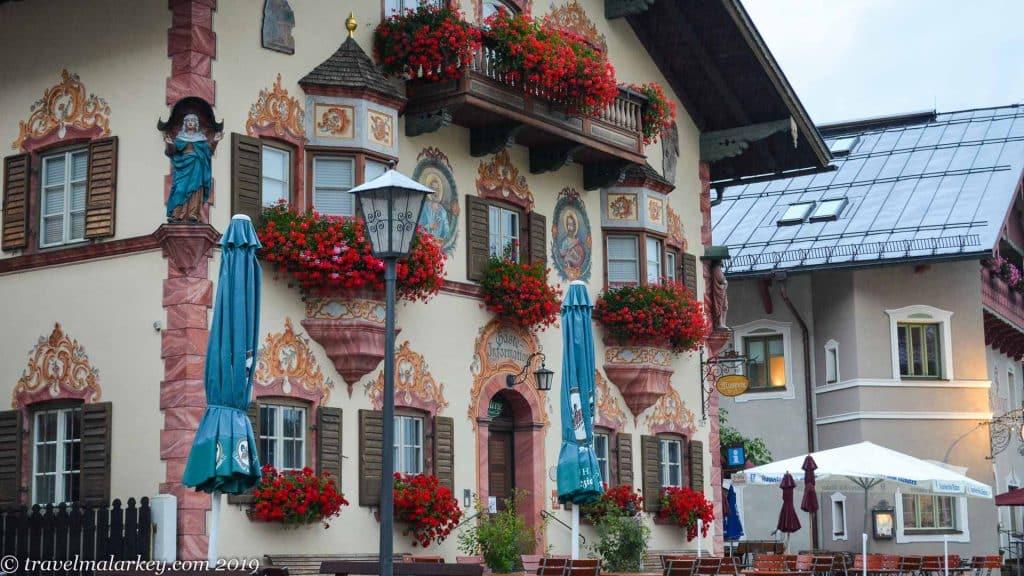 Neubeuern Fresco Building