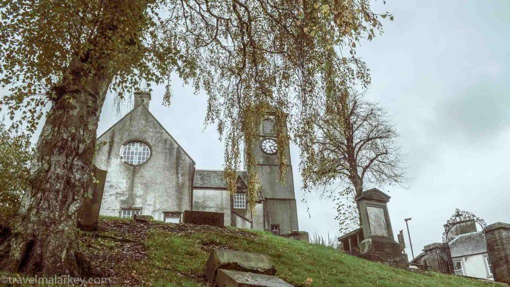 Fallen Gravestone Hawick