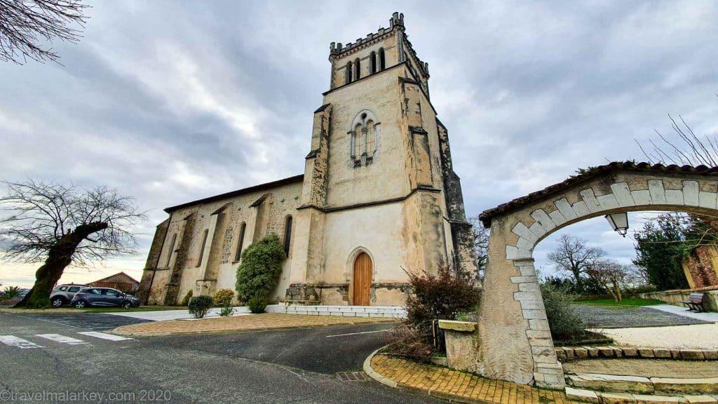 Village Church Saint-Lon-Les-Mines France