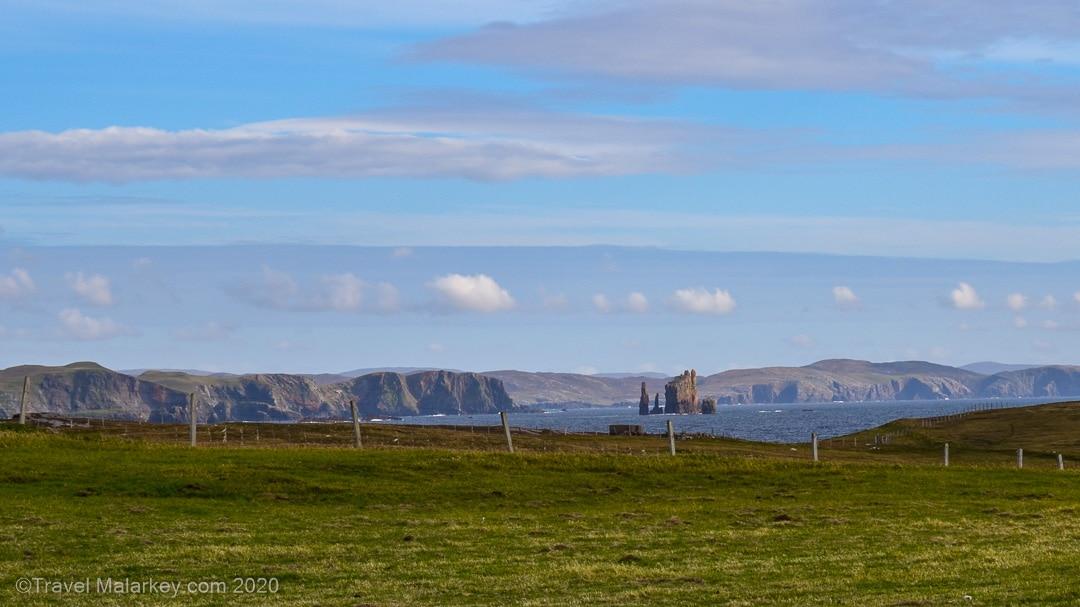 September Sky in Shetland