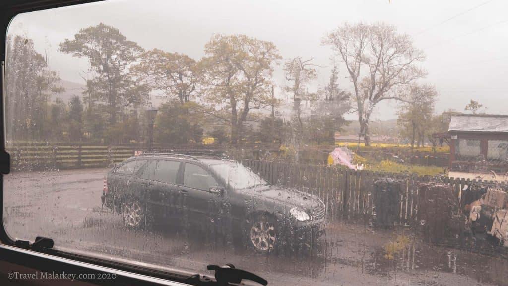 Tavel Malarkey lockdown Scotland Storm in May