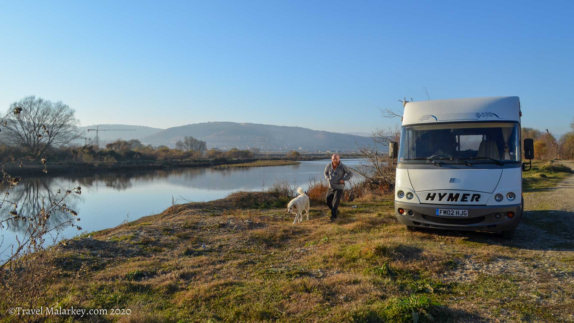 On a Hymer Adventure in Bulgaria